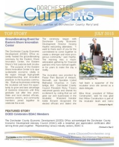 DCED Currents Newsletter 07-2015 Final Cover Page