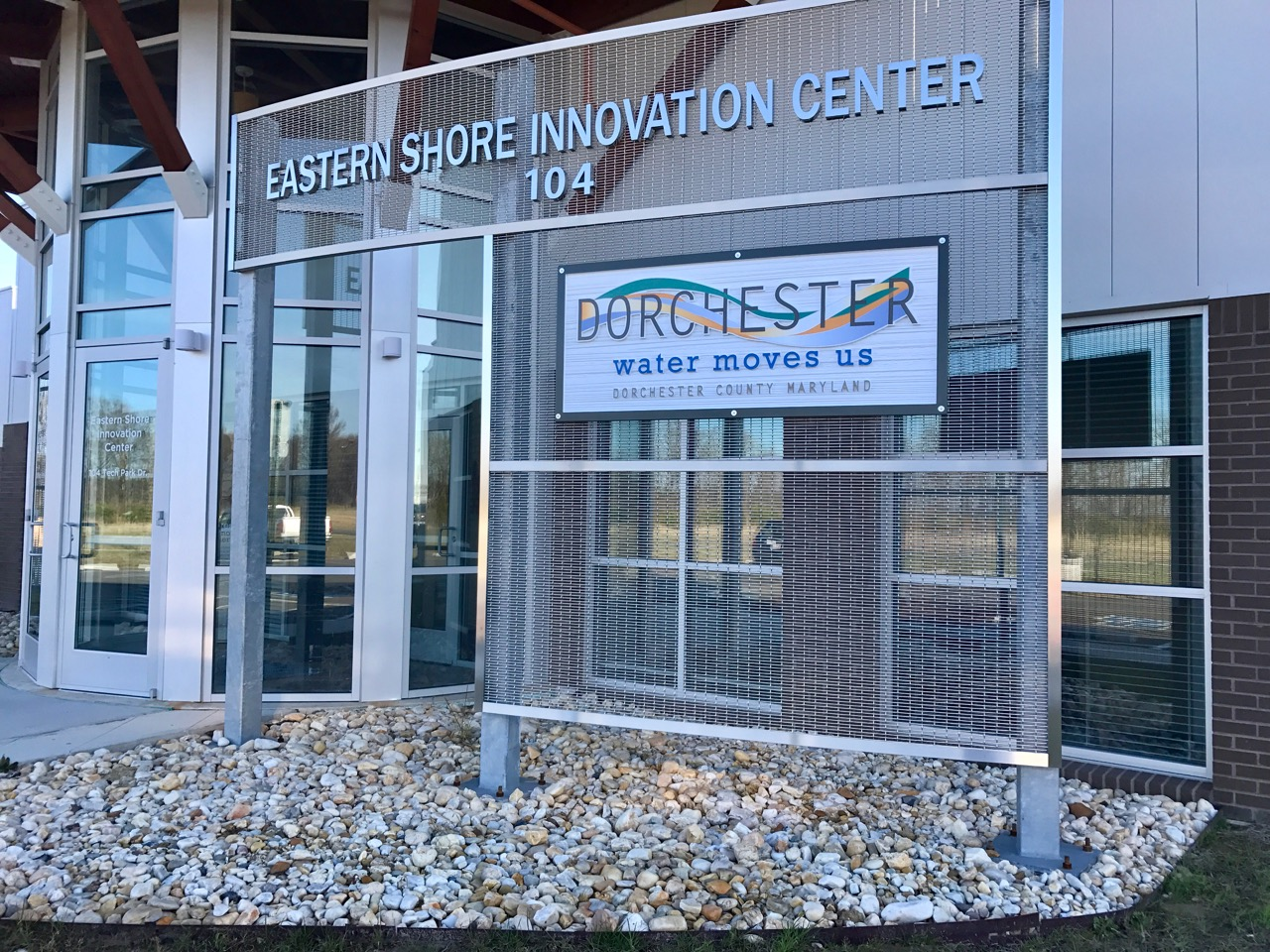 Eastern Shore Innovation Center Exterior_ChooseDorchester