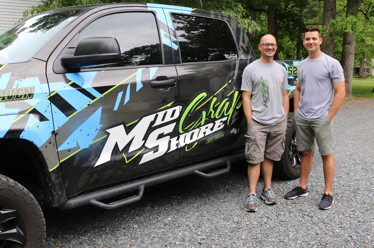 Jason and Jon Warfield of Mid-Shore Graphics