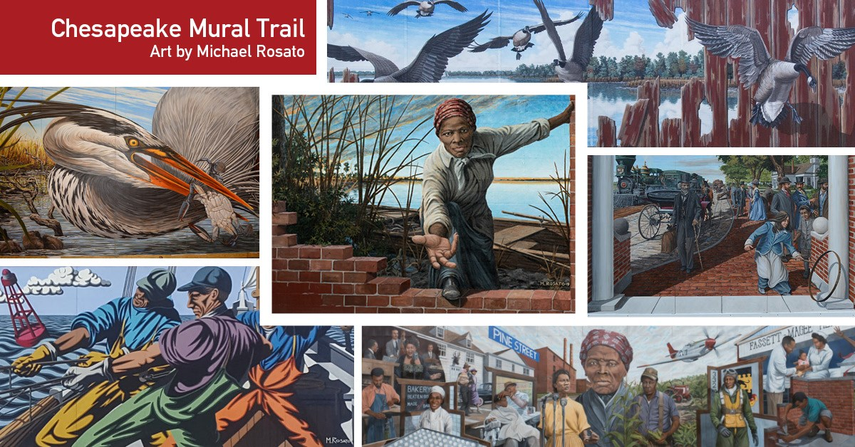 Chesapeake Mural Trail and Tour