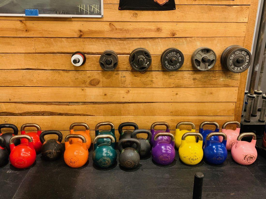 Heirloom Athletics equipment