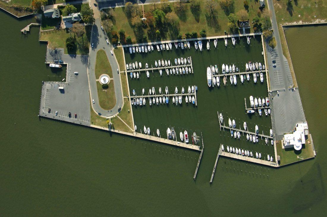 Cambridge Marina Aerial